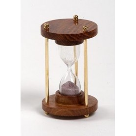 Reloj de arena náutico de un minuto