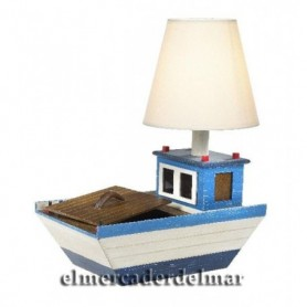 Lámpara náutica barca de sobremesa