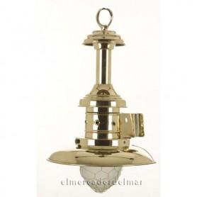 Aplique náutico lámpara pescador