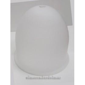 Globo de cristal glaseado para lámpara pescador