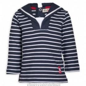 Camiseta marinero algodón de bebé