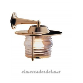 Aplique lámpara náutica de latón