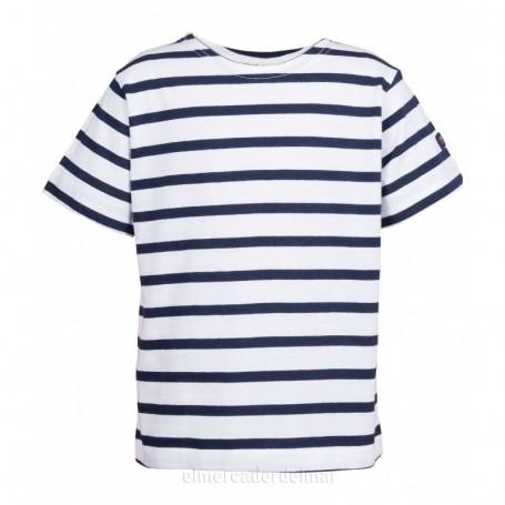 Camiseta marsellesa náutica de niño y niña