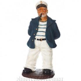 Capitán de barco con pipa