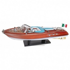 Maqueta naval de lancha motora