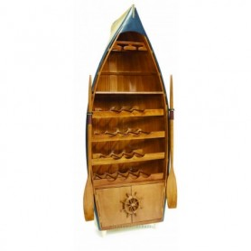 Botellero náutico en barca de pesca