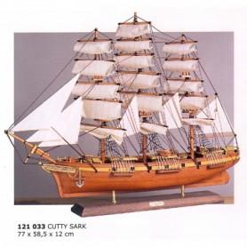 Maqueta naval velero Cutty Sark