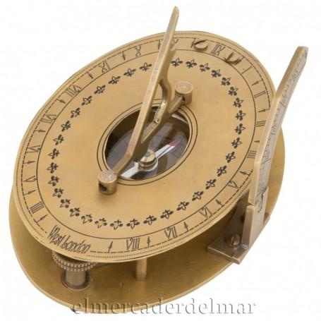 Brújula reloj Solar