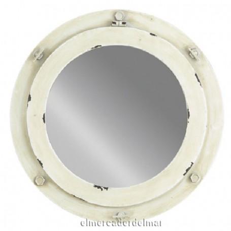 Ojo de buey náutico con espejo
