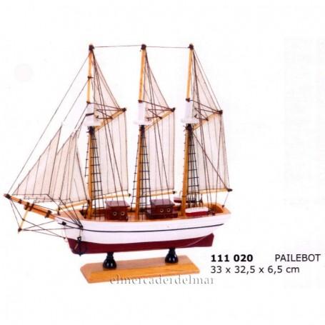Maqueta de barco velero Pailebot