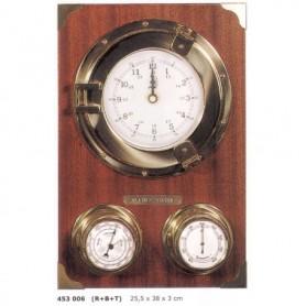 Estación meteorológica reloj ojo de buey