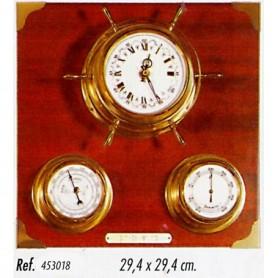 Estación meteorológica reloj timón
