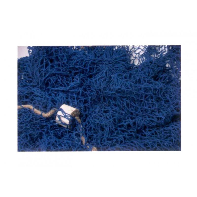 Red pescador decorativa azul marino
