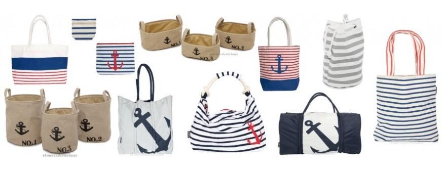 Bolsos y cestos marineros