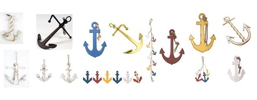 Anclas barco decoración marinera y náutica