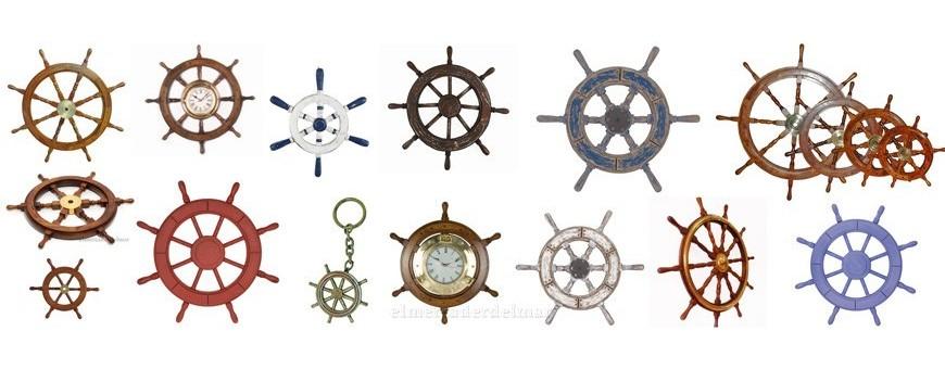 Timones decoración náutica