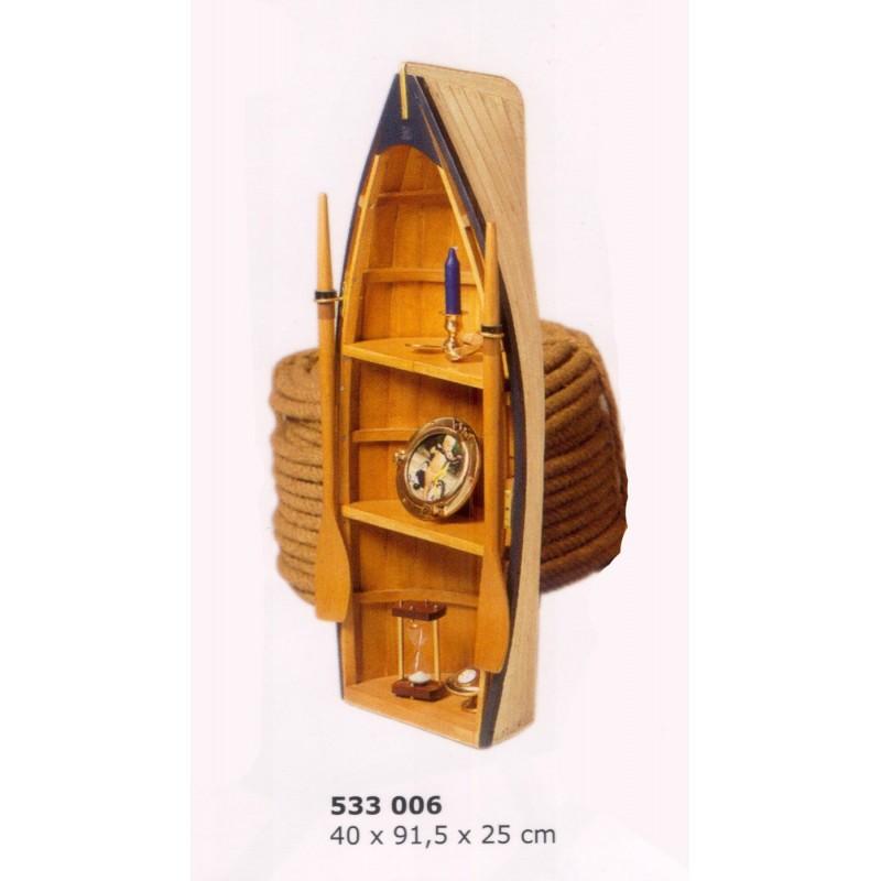 Barca de pesca estantería náutica