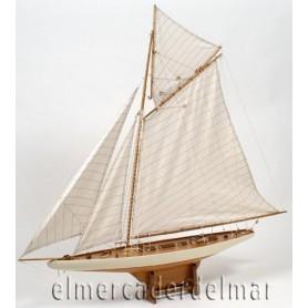 Maqueta de velero Columbia