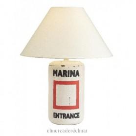 Lámpara náutica boya sobremesa