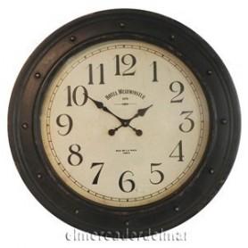 Reloj náutico de metal
