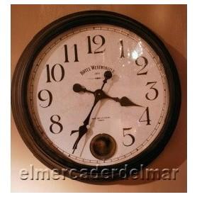 Reloj náutico de madera