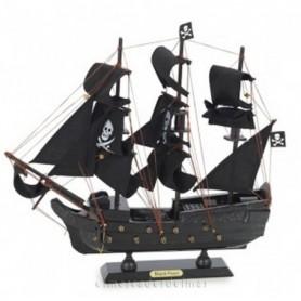 Maqueta naval pirata galeón
