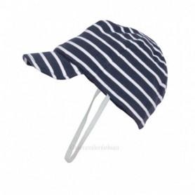 Gorra náutica de bebe en algodón
