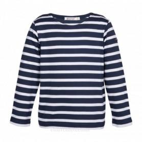 Camiseta marsellesa náutica de niña y niño Batela