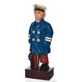 Figura náutica de marinero pata de palo