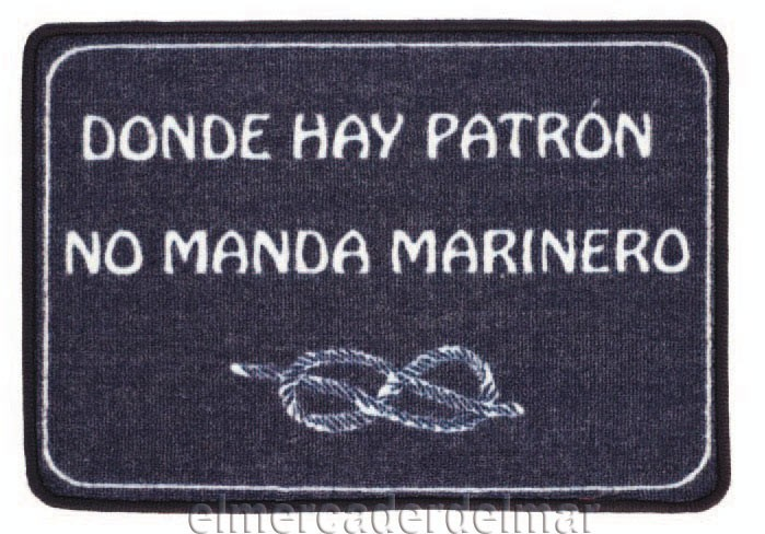 Alfombra náutica \