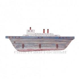 Perchero rústico barco trasatlántico