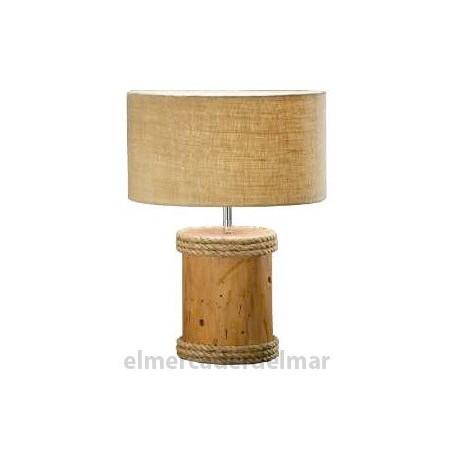 Lámpara náutica tronco