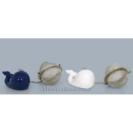 Bola colador té marinera