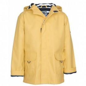 Chubasquero chaqueta náutico de niño en amarillo