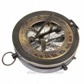 Reloj Solar Brújula en latón