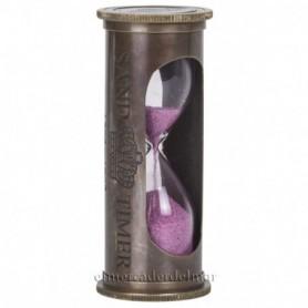 Reloj arena rosa