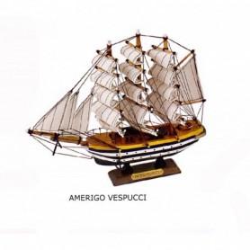 Maqueta de barco velero Amerigo Vespucci