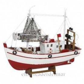 Barco de pesca náutico