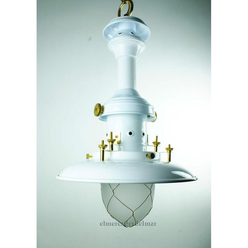 Lámpara de pescador marinera