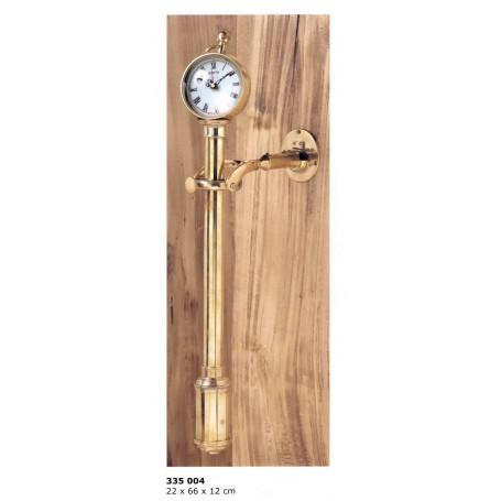 Reloj basculante de latón