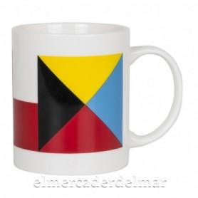 Mug náutico banderas señalización