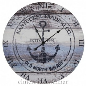 Reloj ancla marinera