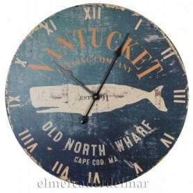 Reloj náutico de pared
