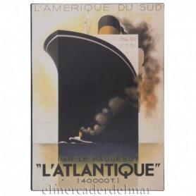 "Placa náutica ""L'ATLANTIQUE"""