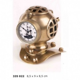 Escafandra náutica con reloj