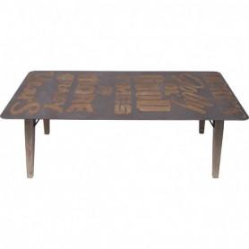 Mesa marinera de madera