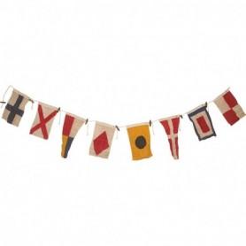 Banderolas marineras con código internacional