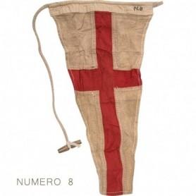 Banderas marineras individuales con código internacional