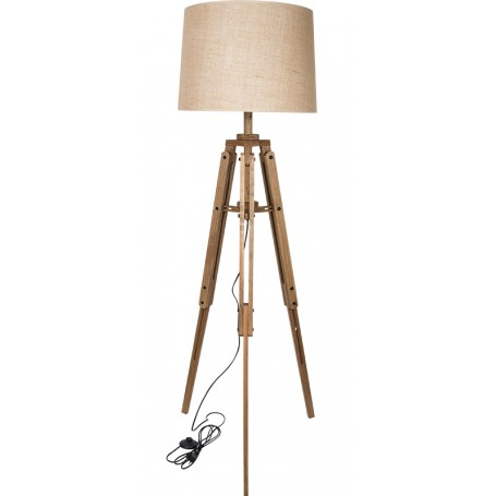 Lámpara de trípode estilo náutico