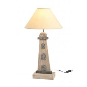 Lámpara faro marítimo con pantalla